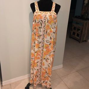 Emilio Pucci Vintage Retro Long Nightgown Maxi